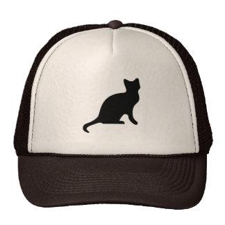 Black Cat - Spooky Scary Trucker Hat