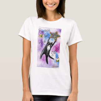 Black Cat Stars T-Shirt