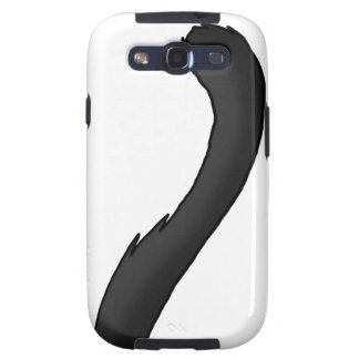 Black Cat Tail Galaxy S3 Covers