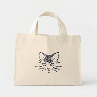Black Cat Tiny Tote Tote Bag