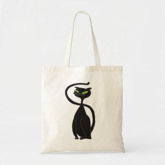 Black Cat Tote Budget Tote Bag