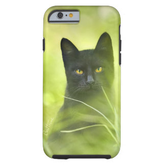 Black Cat Tough iPhone 6 Case
