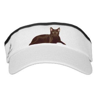 Black Cat Visor