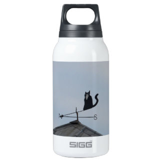 Black Cat  Weather Vane 0.3L Insulated SIGG Thermos Water Bottle
