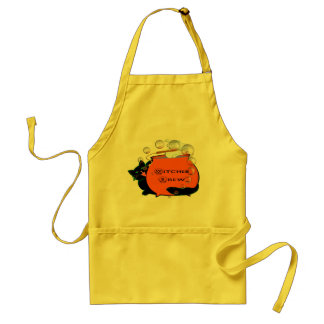Black Cat Witches Brew Standard Apron