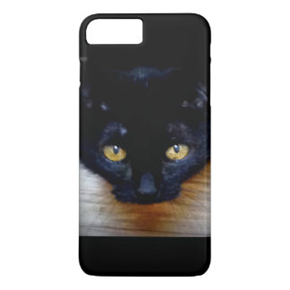 Black Cat with the Gold Eyes iPhone 8 Plus/7 Plus Case