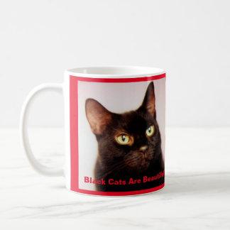 Black Cats Are Beautiful Coffee Mug (version 2)