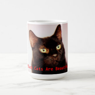 Black Cats Are Beautiful Mug