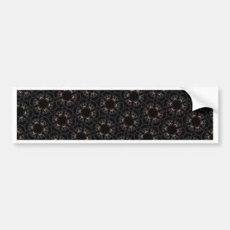 Black cats bumper sticker
