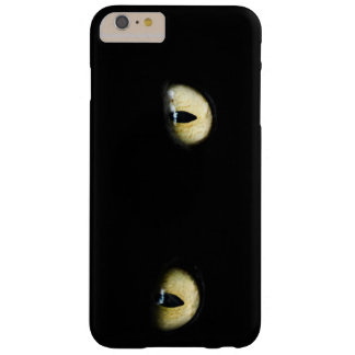 Black Cat's Eyes Barely There iPhone 6 Plus Case