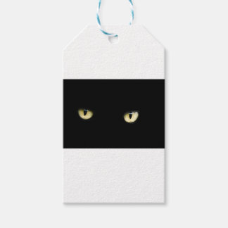 Black Cat's Eyes Gift Tags