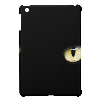Black Cat's Eyes iPad Mini Cases