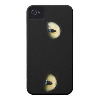 Black Cat's Eyes - iPhone Case
