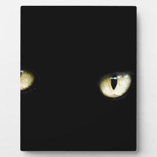 Black Cat's Eyes Plaque