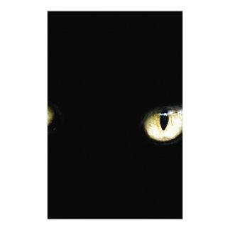 Black Cat's Eyes Stationery