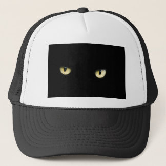 Black Cat's Eyes Trucker Hat