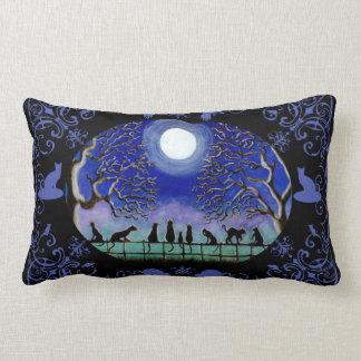 Black Cats home decor pillow