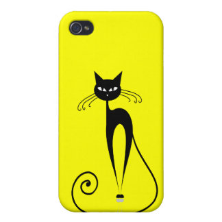 BLACK CATS iPhone 4/4S CASES
