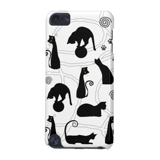 Black Cats iPod Case iPod Touch (5th Generation) Cover