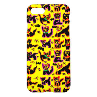 black cats party iPhone 8/7 case