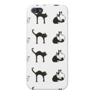 black cats - pets case for iPhone 5/5S