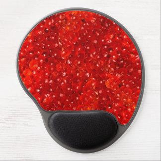 Black Caviar Luxury Red Mousepad Gel Gel Mouse Pad