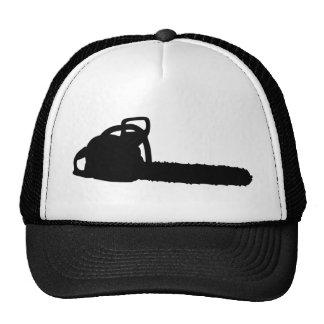 black chainsaw cap