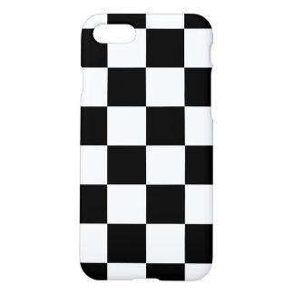 Black Checkered iPhone 7 Case