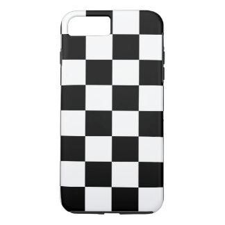 Black Checkered iPhone 7 Plus Case