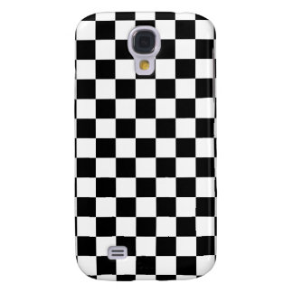 Black Checkered Samsung Galaxy S4 Covers