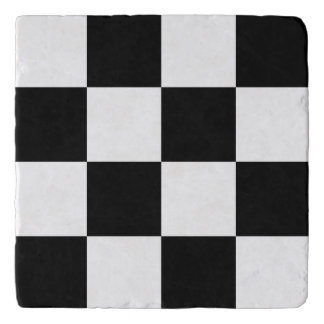 Black Checkered Trivet