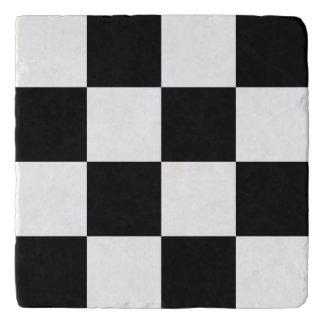 Black Checkered Trivets