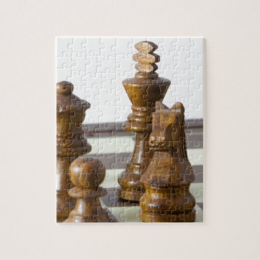 Black chess pieces puzzles