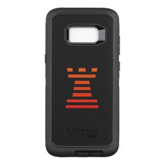 Black ChessME OtterBox Defender Samsung Galaxy S8+