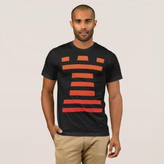 Black ChessME Tee Shirts With Orange Rook