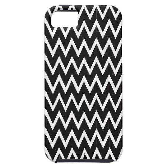 Black Chevron Illusion iPhone 5 Cases