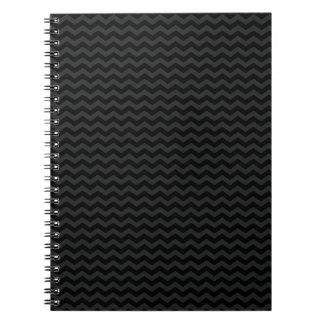 Black Chevron Notebook