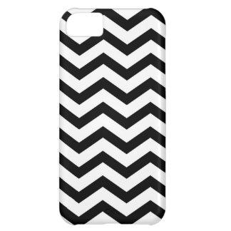 Black chevron zig zag Iphone case