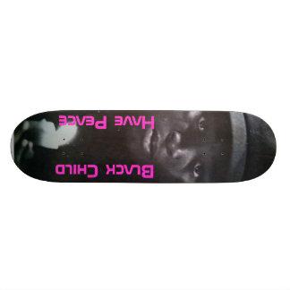 Black Child 21.6 Cm Old School Skateboard Deck