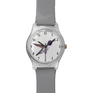 Black-chinned Hummingbird Wrist Watches