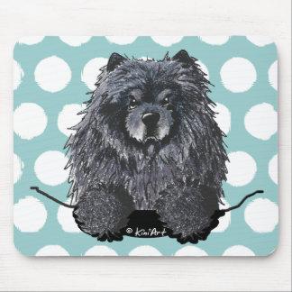 Black Chow Mousepad