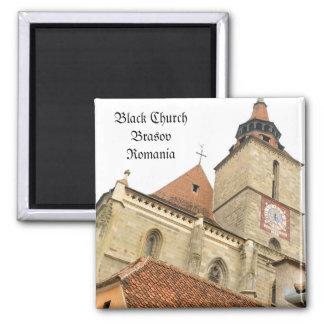 Black church in Brasov, Romania Magnet
