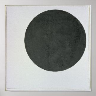 Black Circle, c.1923 Poster