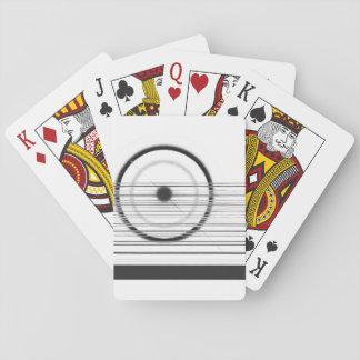 black circle playing cards