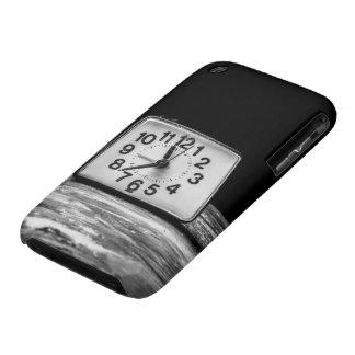 Black clock iPhone 3 Case-Mate case