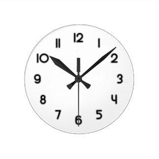 Black Clock Template.