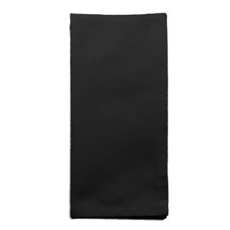 Black Cloth Napkins
