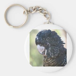 Black Cockatoo Key Ring