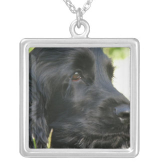 Black Cocker Spaniel Dog Necklace