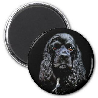 Black Cocker Spaniel Magnet
